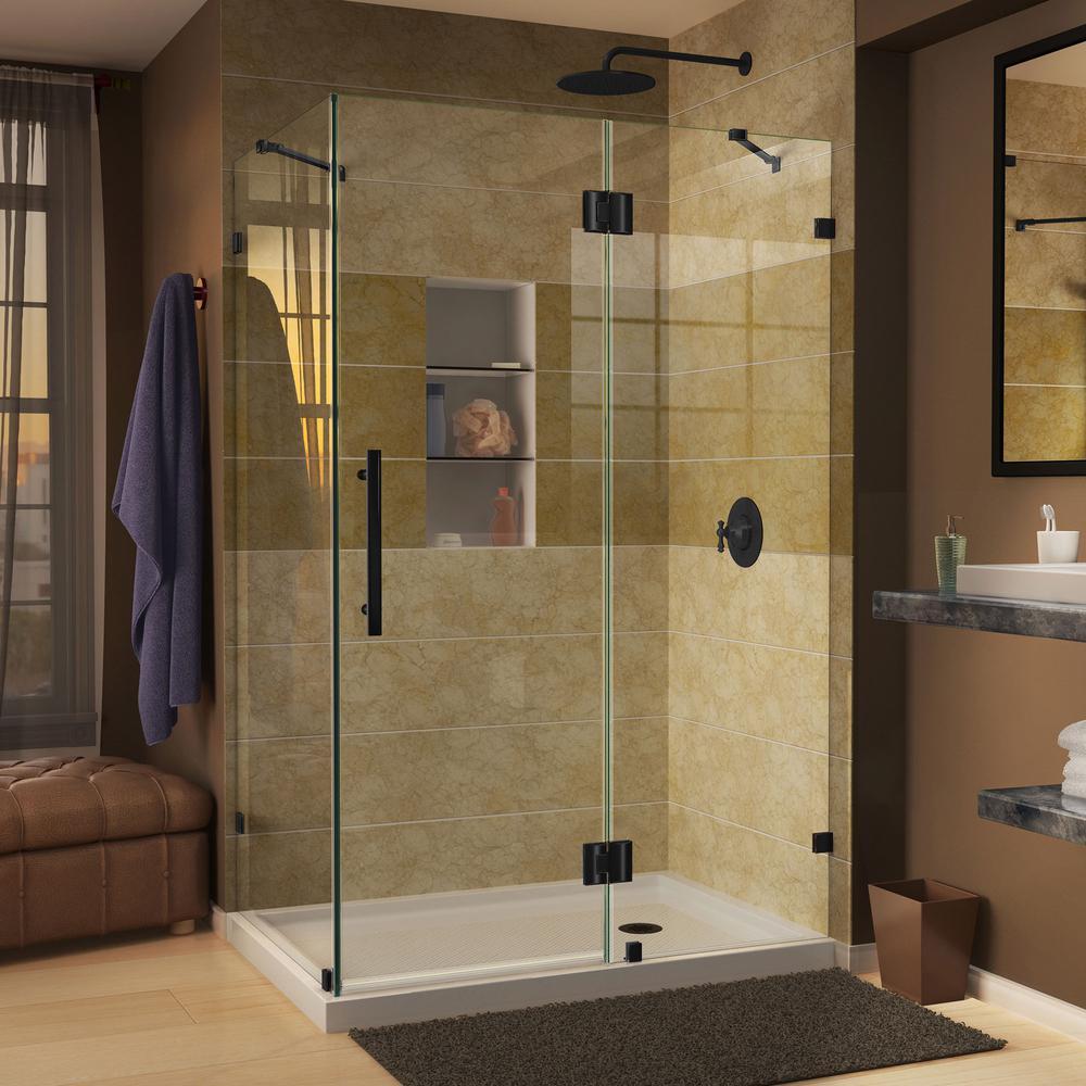 Black - Corner Shower Doors - Shower Doors - The Home Depot