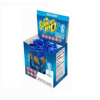 Zero Sugar Qwik Stik Single Serve 0.11 oz. Mixed Berry Electrolyte Drink Mix Powder (120-Stiks per Case)