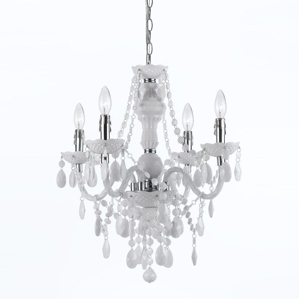 Af lighting naples 4 light white mini chandelier 8680 4h the home af lighting naples 4 light white mini chandelier aloadofball Image collections