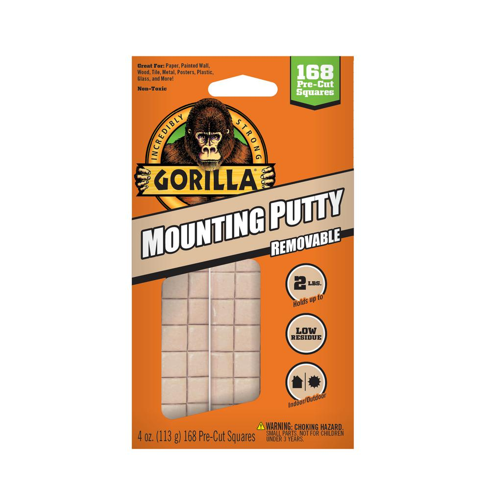 Gorilla 2 oz. Mounting Putty (8-Pack)
