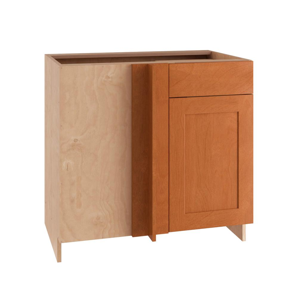 36x34.5x24 in. Elice Blind Base Corner Cabinet with 1 Soft Close