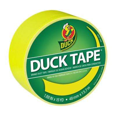 1.88 in. x 15 yds. X-Factor Yellow Duct Tape (6-Pack)