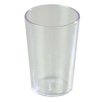 8 oz. SAN Plastic Stackable Tumbler in Clear (Case of 24)