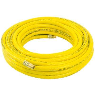 50 ft. x 3/8 in. Yellow PVC Air Hose