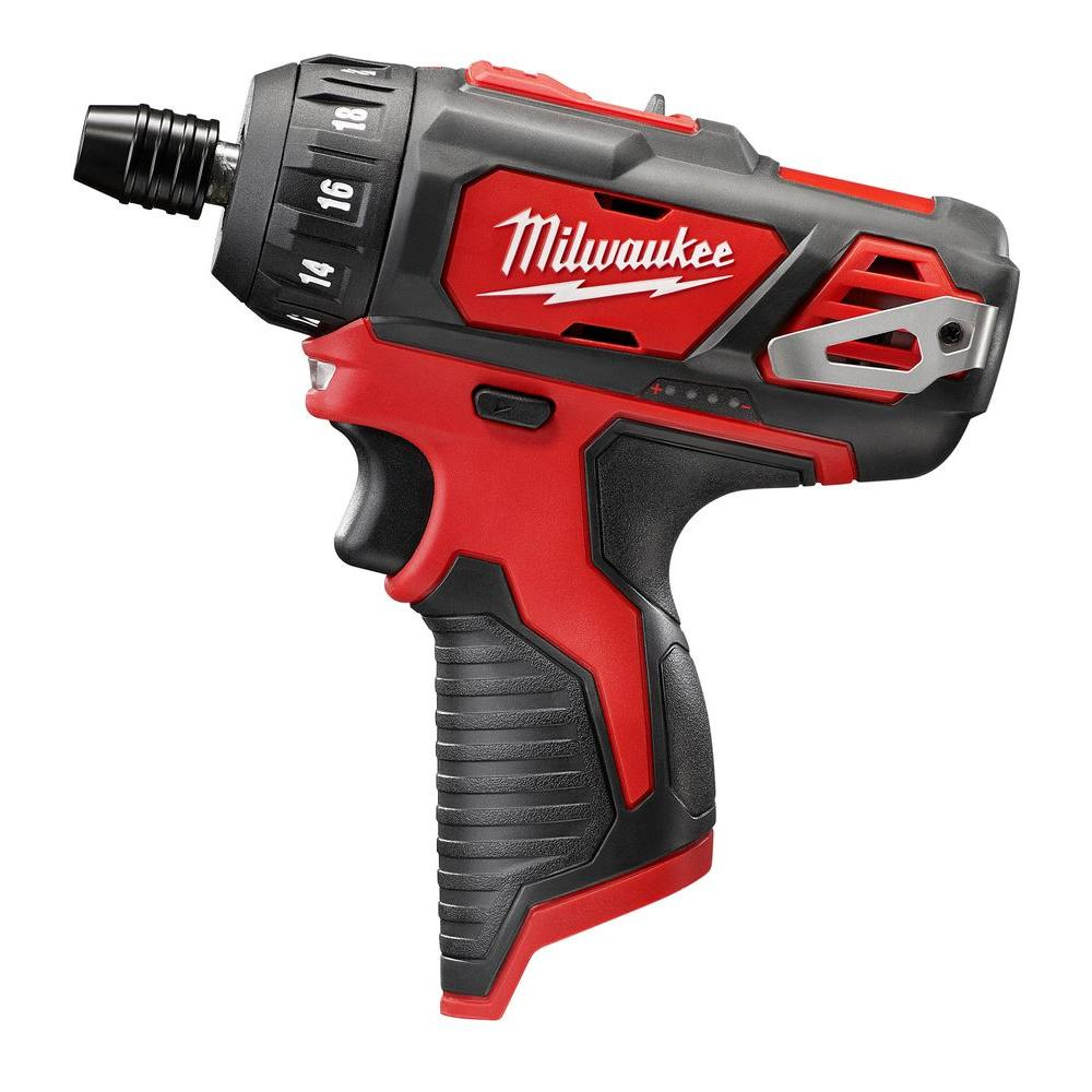M12 12-Volt Lithium-Ion Cordless 1/4 in. Hex 2-Speed Screwdriver (Tool-Only)