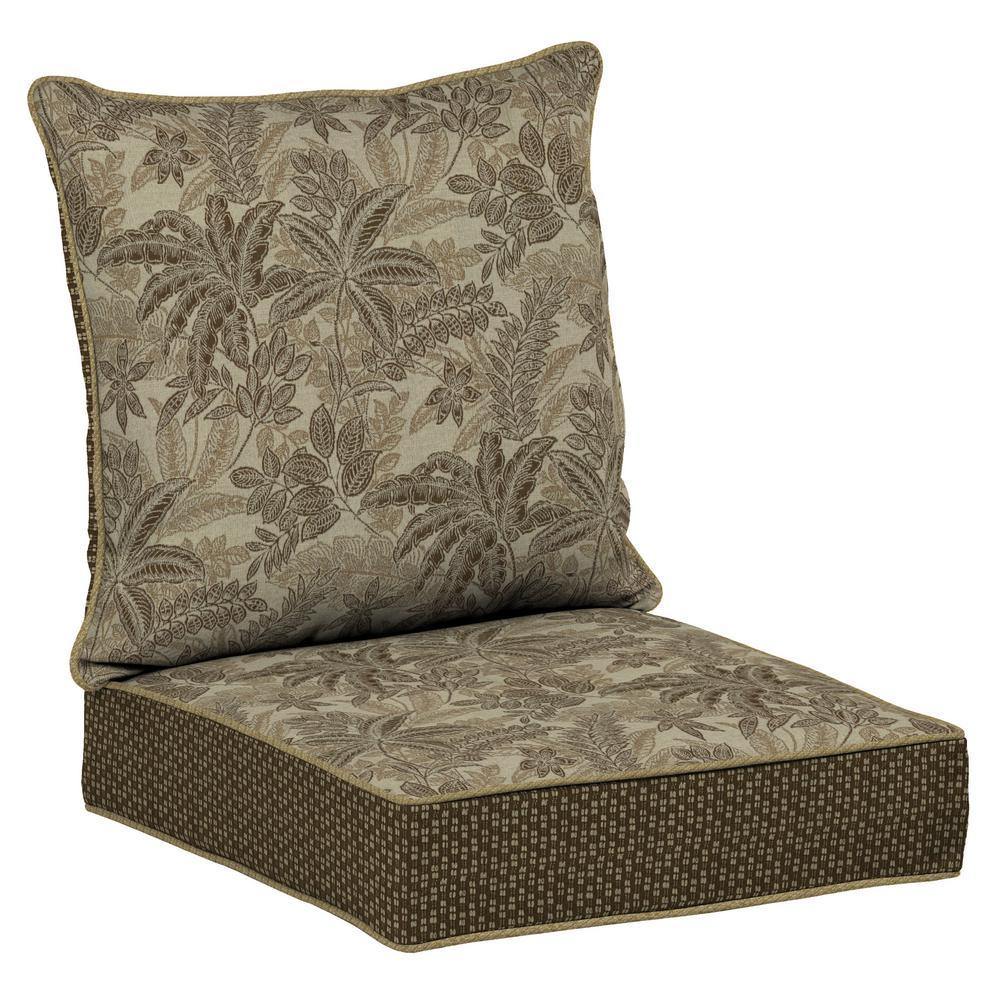 hampton bay canvas paprika 2 piece deep seating outdoor dining chair cushion set l318210b 9d4. Black Bedroom Furniture Sets. Home Design Ideas