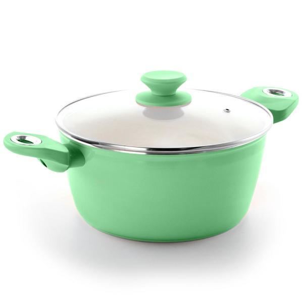 Gibson Home Plaza Cafe 4.5 Qt Mint Dutch Oven 985111745M
