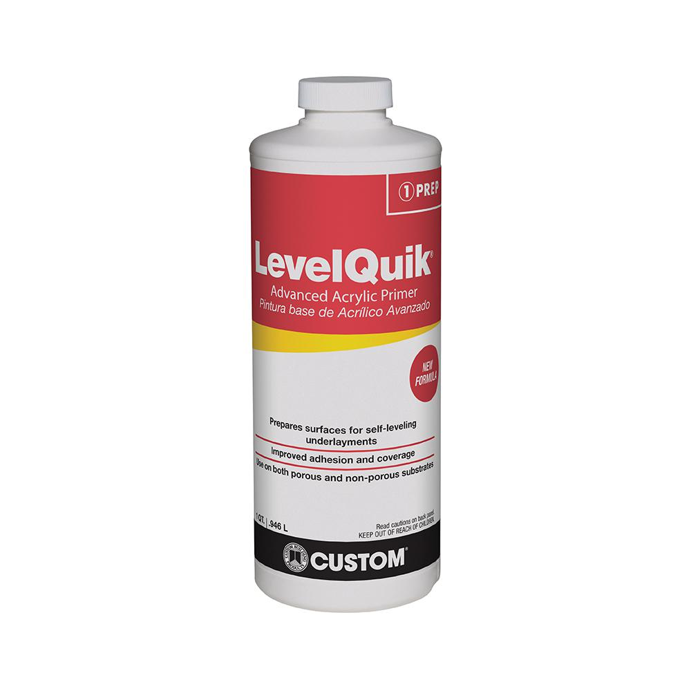 Custom Building Products LevelQuik 1 Qt. Latex Primer-CPQT