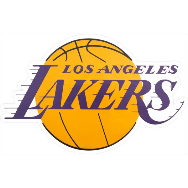 Applied Icon Nba Los Angeles Lakers Outdoor Logo Graphic Large