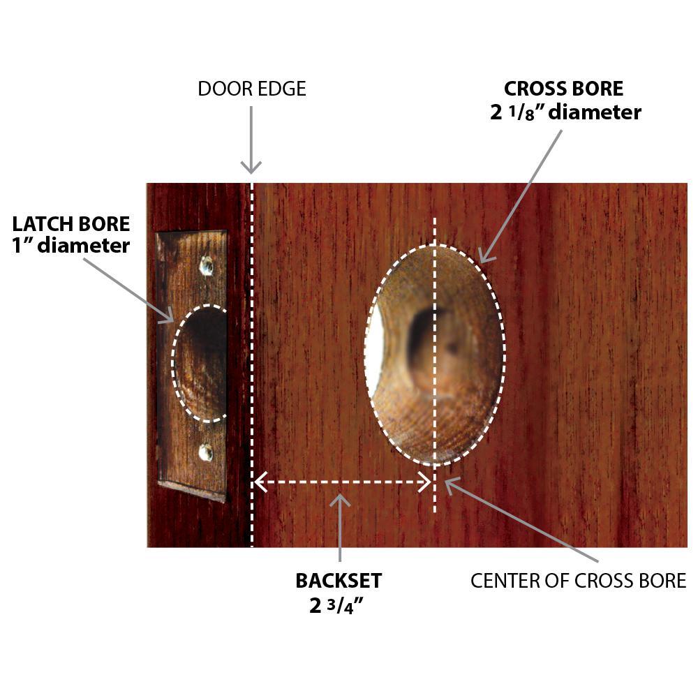 Nostalgic Warehouse Classic Rosette 2 3 4 In Backset Antique Brass Passage Hall Closet Deco Door Knob 708395 The Home Depot