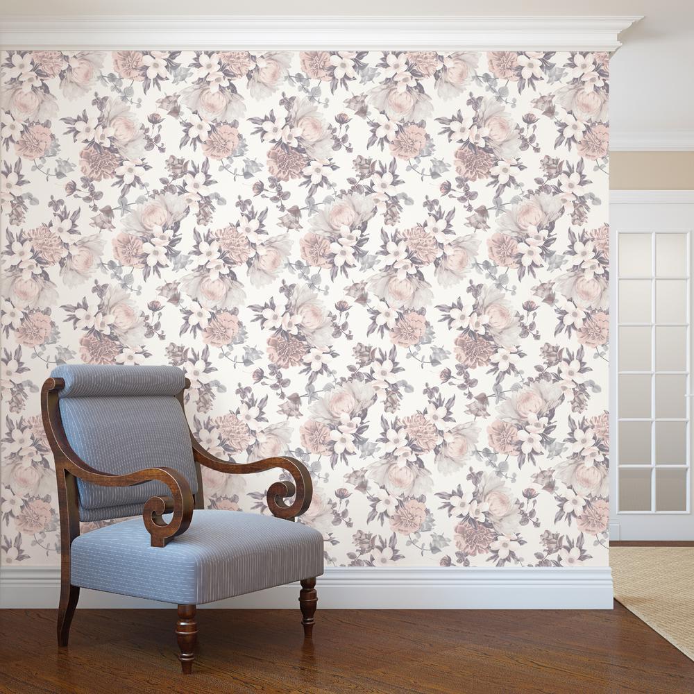 Tempaper Botanical Blossom Wallpaper-BO510
