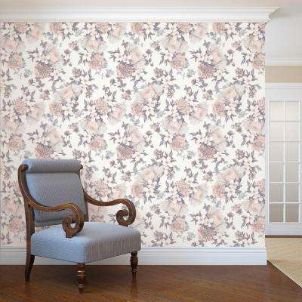 Botanical Blossom Wallpaper