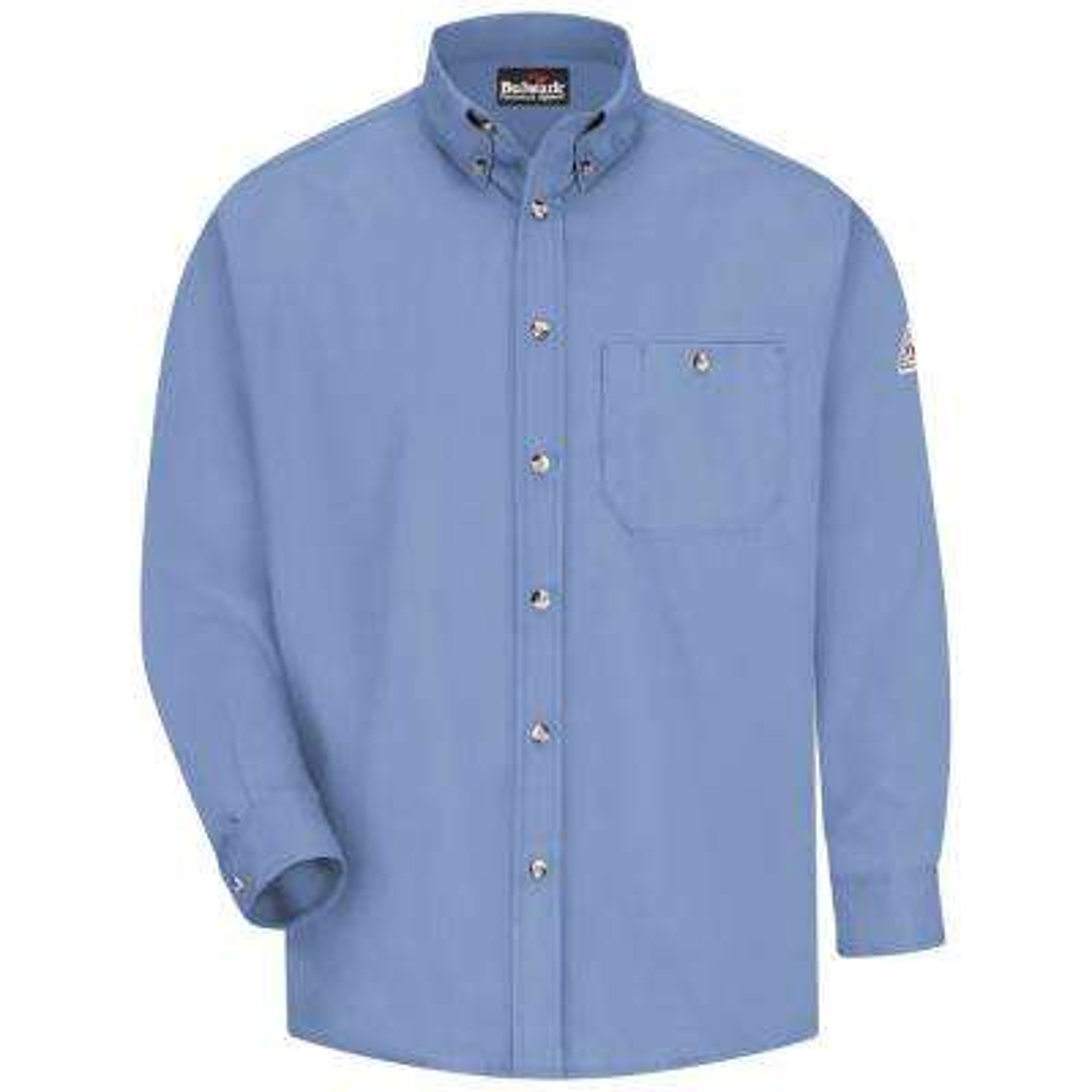 EXCEL FR Men's 2X-Large (Tall) Light Blue Dress Shirt