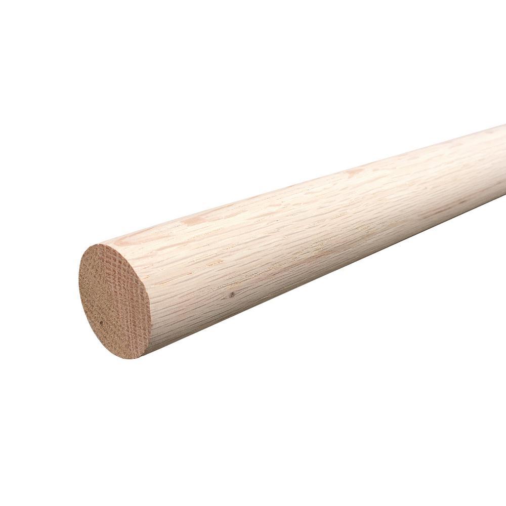 Beau Oak Closet Pole