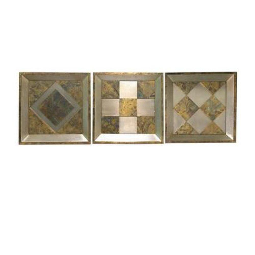 Home Decorators Collection Pattern Wall Art (Set of 3)
