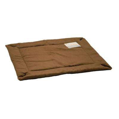 14 in. x 22 in. Small Mocha Self-Warming Crate Pad