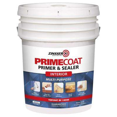 5 gal. PrimeCoat Water-Based White Interior Primer and Sealer