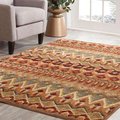 Napa Chicora Tan 5 ft. 3 in. x 7 ft. 6 in. Area Rug