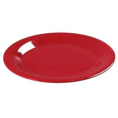 Diameter Melamine Wide Rim Dinner Plate in Red (Case of 24)  sc 1 st  The Home Depot & Red - Dinner Plates - Dinnerware - Tabletop u0026 Bar - The Home Depot