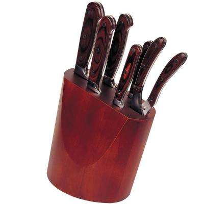 Pakka 7-Piece Wood Knife Block