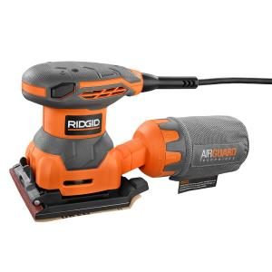 Ridgid 2.4 Amp 1/4 Sheet Sander with AIRGUARD Technology by RIDGID