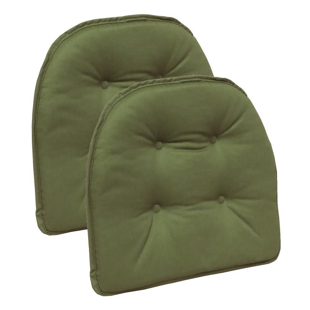 Gripper Non-Slip 15 in. x 16 in. Twill Mastic Green Tufted