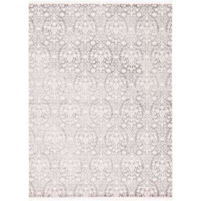 New Classical Tyche Gray 9' 0 x 12' 0 Area Rug