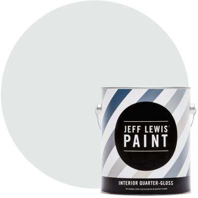 1 gal. #310 Sky Quarter-Gloss Interior Paint
