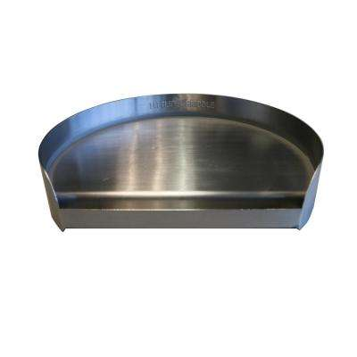 14 in. Round Stainless Steel Griddle for Kamado and Charcoal Grills