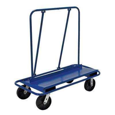 3,000 lb. Capacity Drywall/Panel Cart with Glass-Filled Nylon