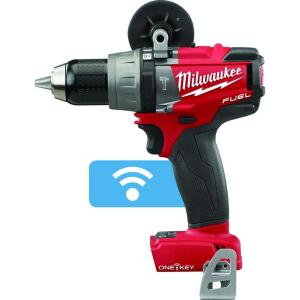 Milwaukee M18 FUEL ONE-KEY 18-Volt Lithium-Ion Brushless Cordless 1/2 inch Hammer... by Milwaukee