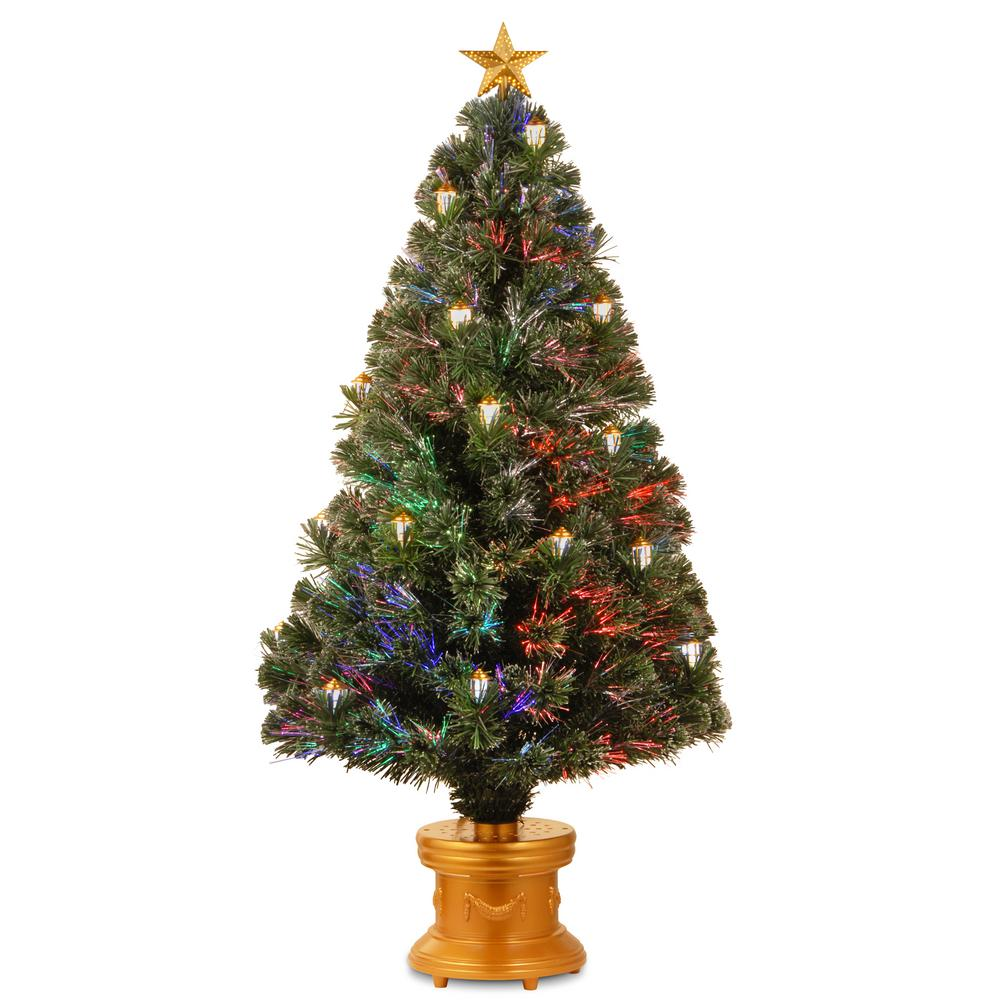 Fiber Optic Color Changing Christmas Tree
