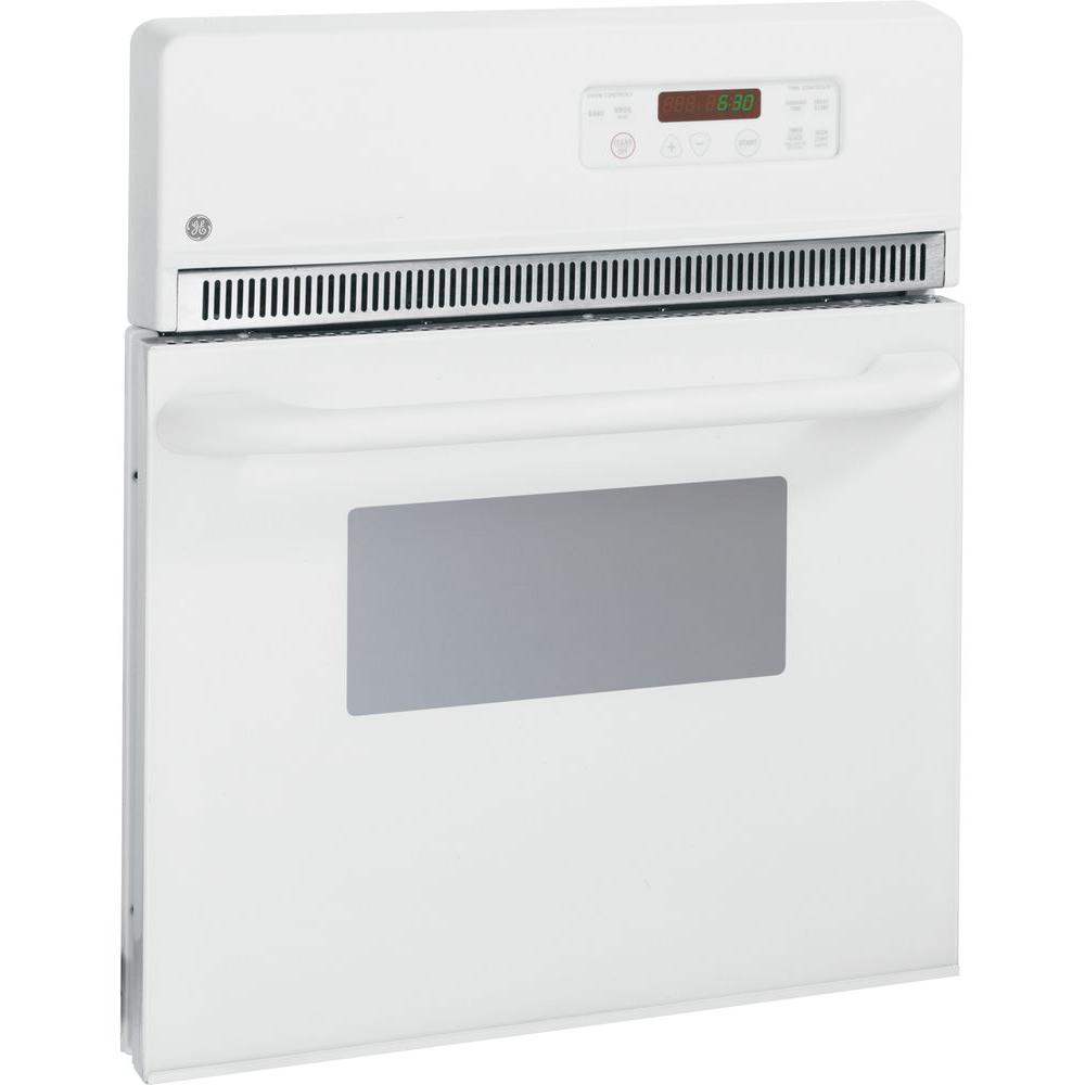 24 in. Electric Single Wall Oven in White