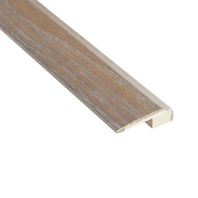 Oyster Oak 3/8 in. Thick x 2-1/8 in. Wide x 78 in. Length Carpet Reducer Molding