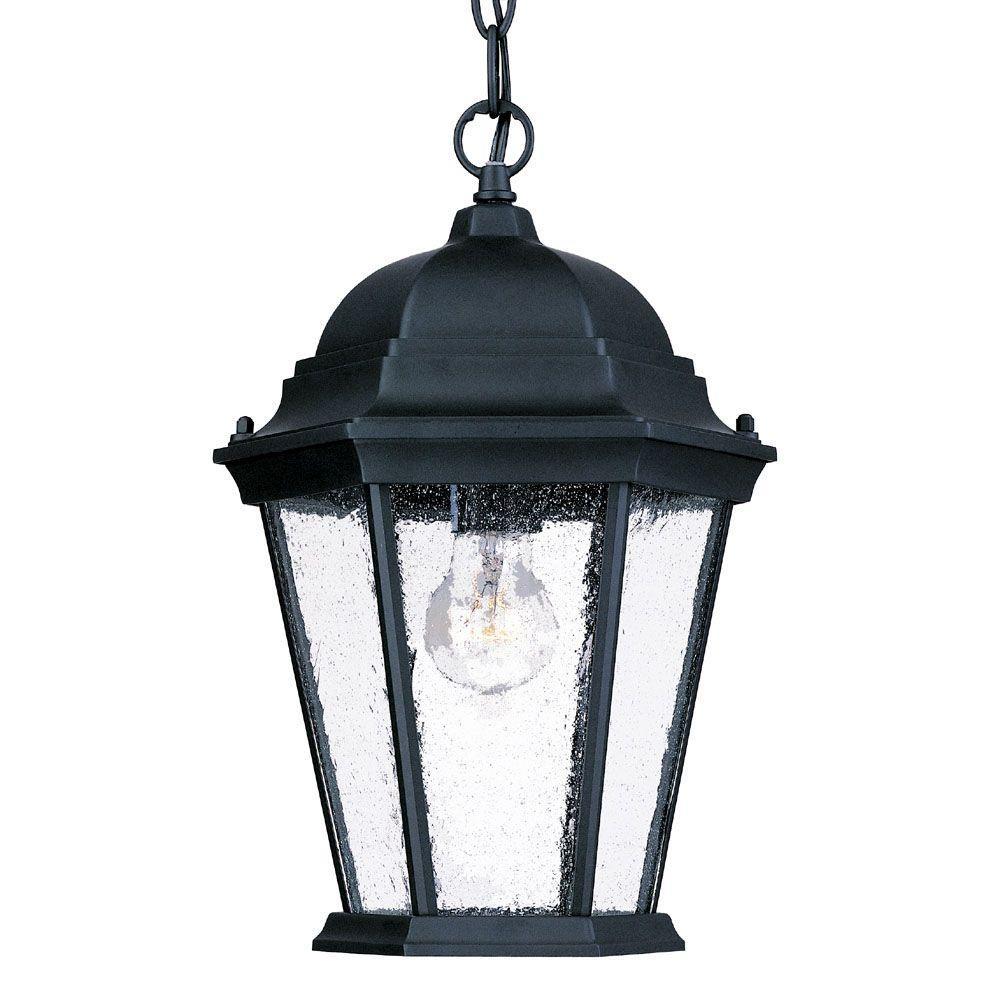 Acclaim Lighting Richmond Collection 1-Light Matte Black
