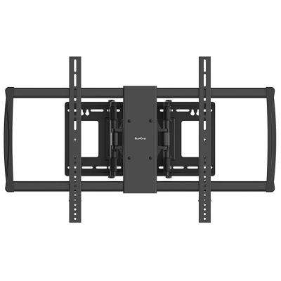Heavy Duty Full-Motion TV Wall Mount for 60 in. - 100 in. Flat Panel and Curved TVs, Black [UL Listed]