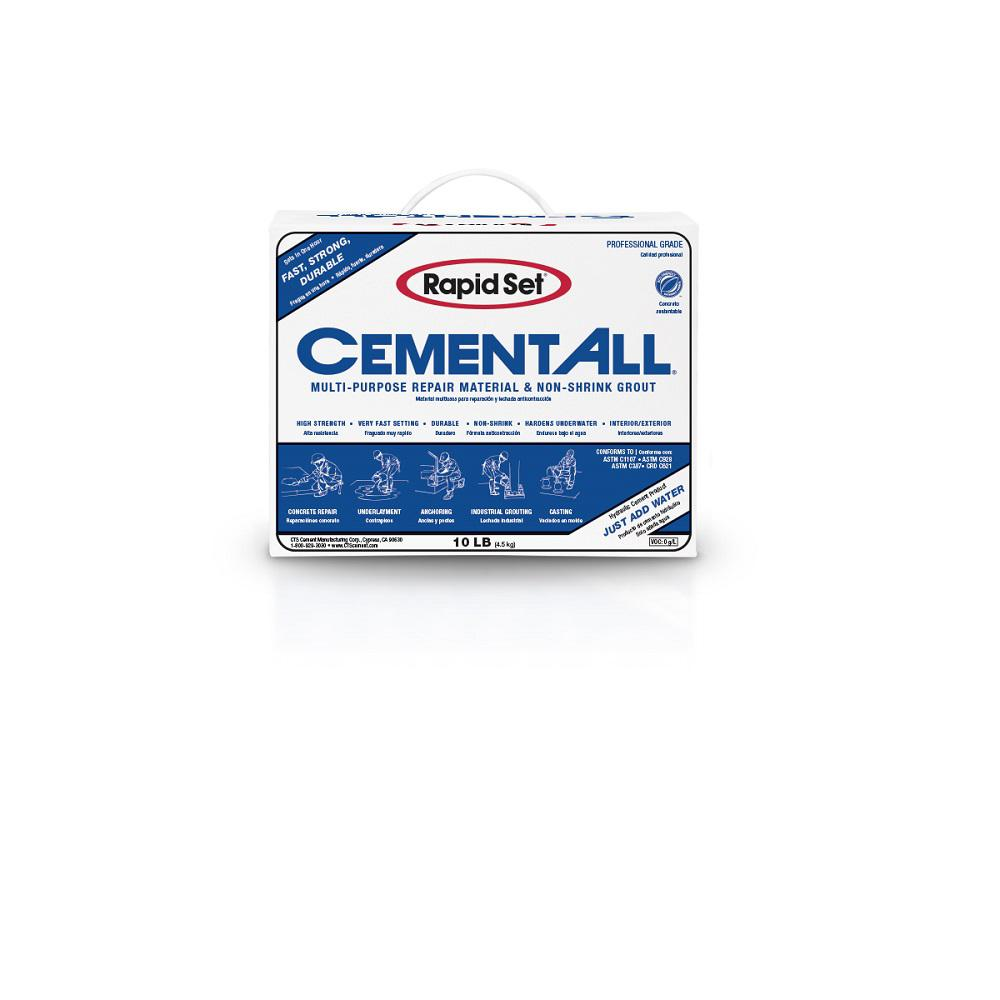 Rapid Set 10 Lb Cement All Multi Purpose Construction