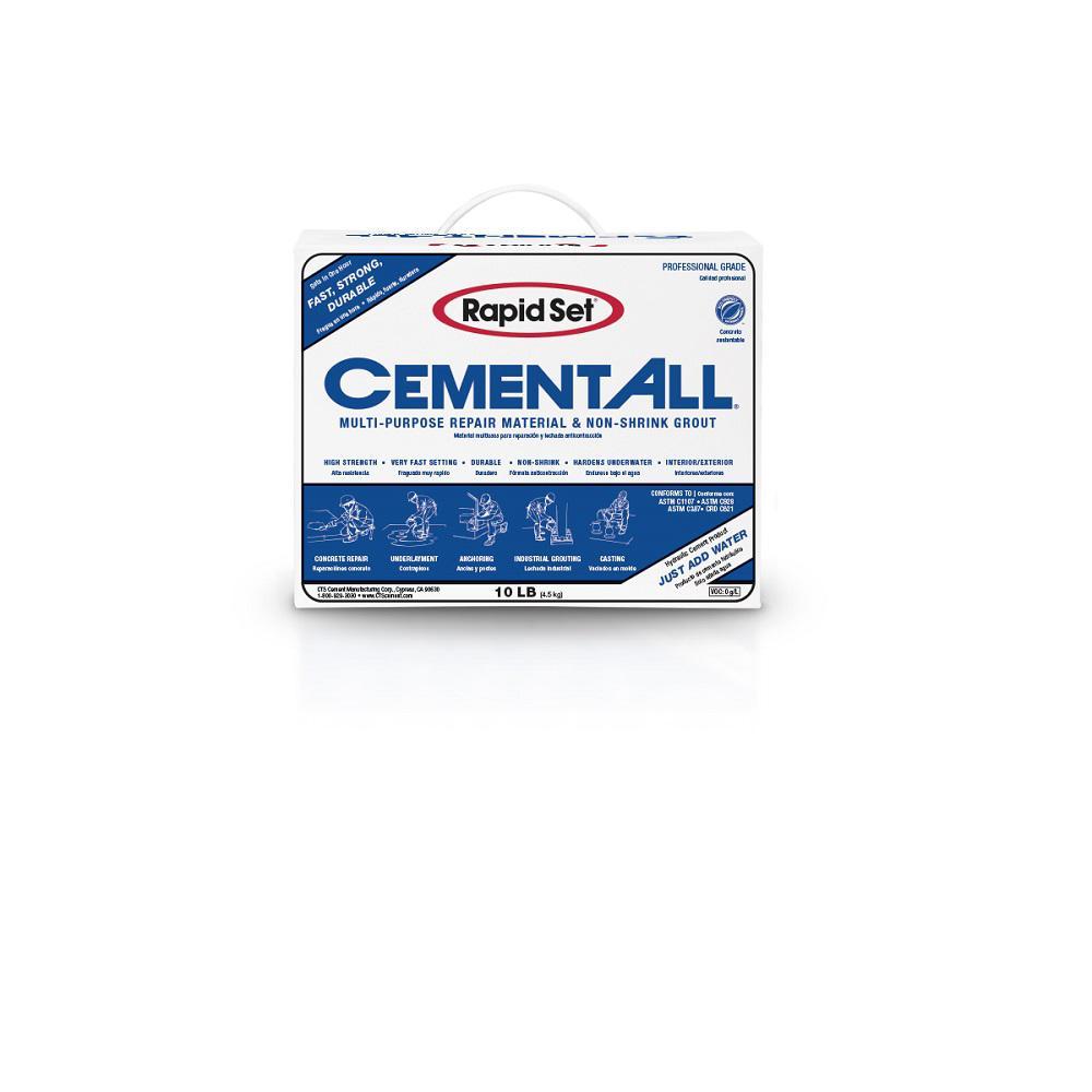 Rapid Set 10 lb. Cement All Multi-Purpose Construction Material