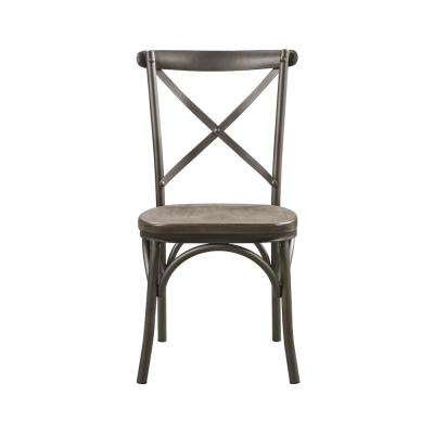 Kaelyn II Gray Oak and Sandy Gray Side Chair (Set of 2)
