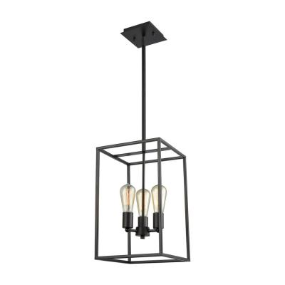 Williamsport 3-Light Oil Rubbed Bronze Chandelier