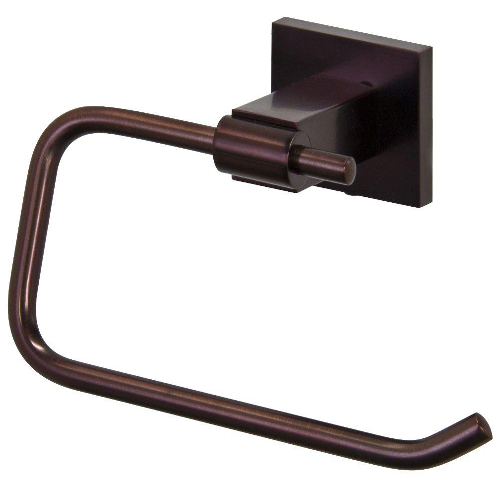 vigo allure square design single post toilet paper holder in oil rubbed bronze vgac009rb the. Black Bedroom Furniture Sets. Home Design Ideas