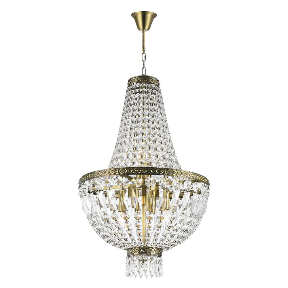 Worldwide lighting metropolitan 6 light antique bronze crystal worldwide lighting metropolitan 6 light antique bronze crystal chandelier arubaitofo Images