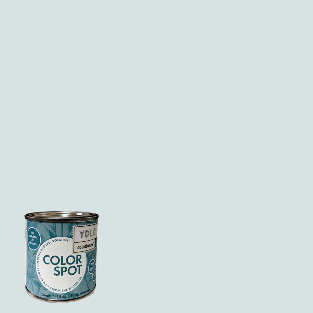 YOLO Colorhouse 8 oz. Air .06 ColorSpot Eggshell Interior Paint Sample-DISCONTINUED