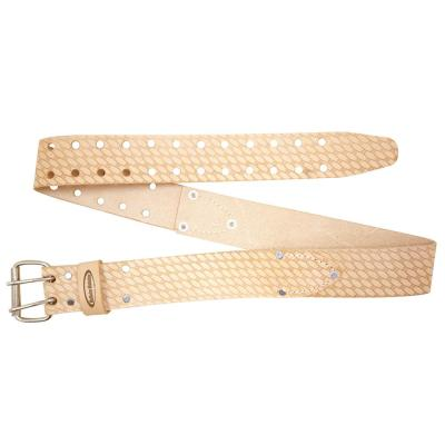 2 in. Leather Work Belt in Saddle Leather