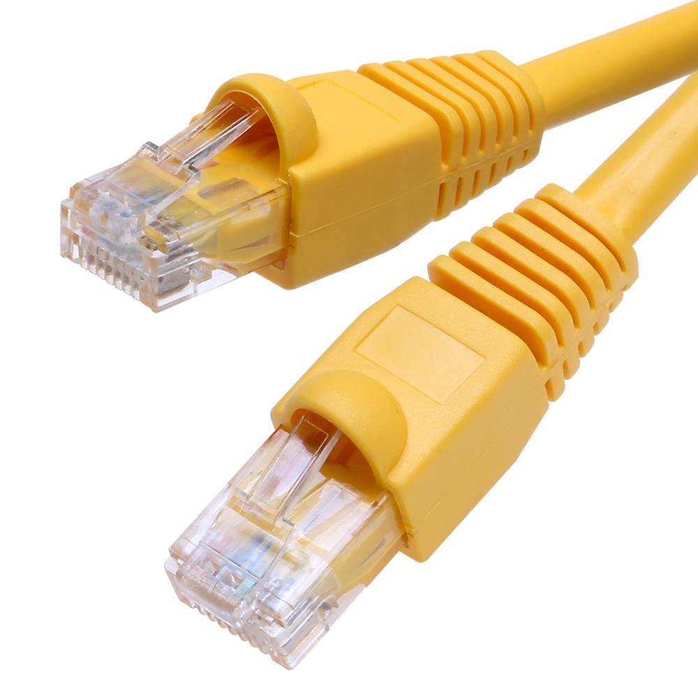 25 ft. CAT5E Ethernet Cable in Yellow