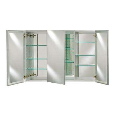 Broadway 48 in. x 30 in.  Recessed or Optional Surface Medicine Cabinet Mont Kit with perimeter Bevel Mirror