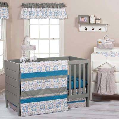 Monaco 3-Piece Crib Bedding Set