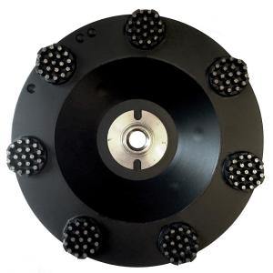 Lackmond 7 inch Pro Series Spike Grinding Wheel, Wet / Dry, 5/8 inch in. -11 Thread by Lackmond