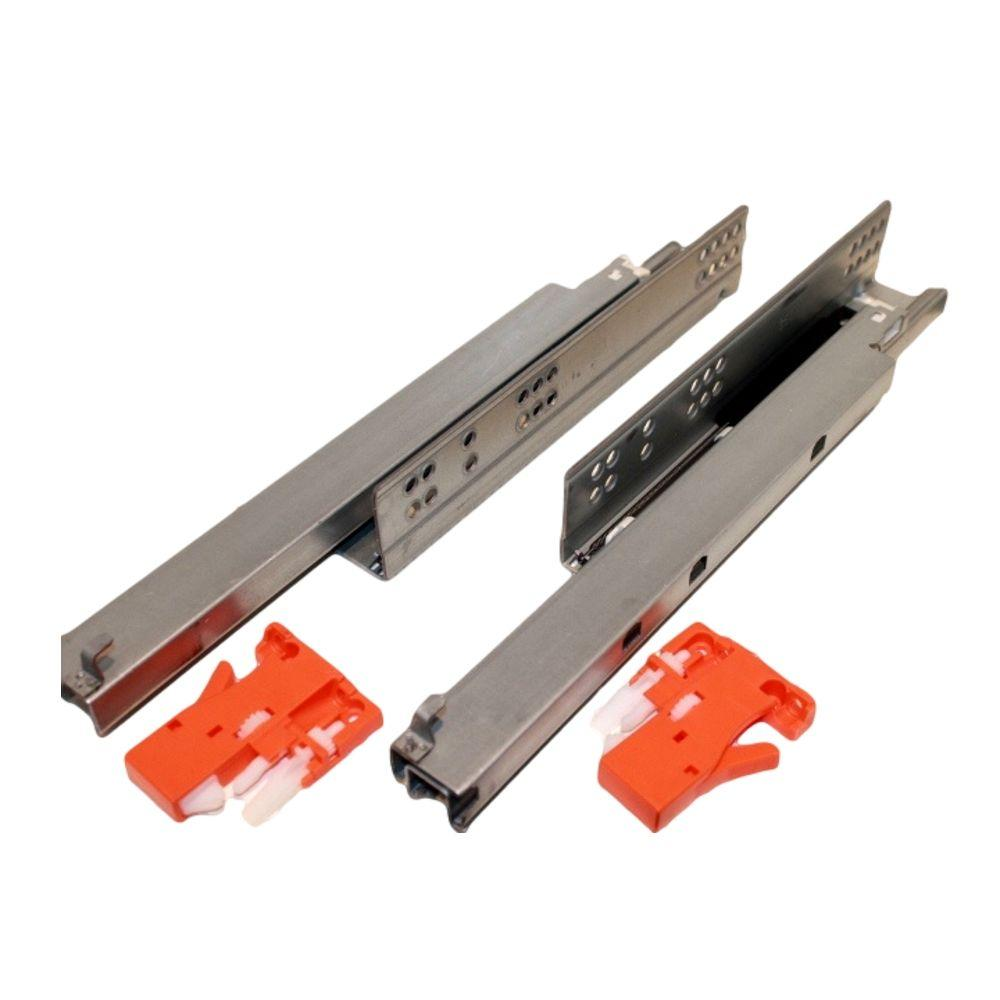 12 In Under Mount Push Open Full Extension Drawer Slide 20 Pack Dy3lw1 08 12 The Home Depot