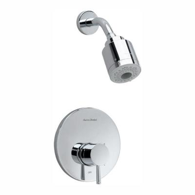 Serin FloWise Pressure Balance 1-Handle Shower Faucet Trim Kit in Polished Chrome (Valve Sold Separately)